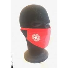 Mascherina Protettiva Modello Adulto con Ricamo Guancia CRI C.R.I. Croce Rossa italiana Lavabile COVID-19 Art. NSD-CRI-19