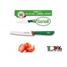 Linea Premana Professional Knife Coltello Pomodoro cm 12 Sanelli Italia Cuochi Chef Approvato dalla F.I.C. Federazione Italiana Cuochi Art. 329612