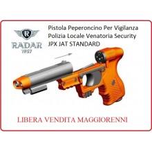 Pistola Peperoncino Autodifesa per Vigilanza Security Polizia Locale Piexon JPX JET STANDARD Radar 1957 LIBERA VENDITA Art.8200-0009