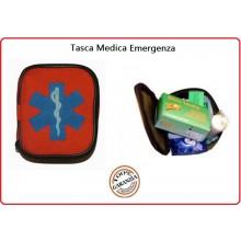 Tasca Medica Arancio Kit First Aid 1 Kit Primo Soccorso  Versione 118  Art.01419-