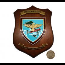 Crest Araldico della Polizia di Stato del Reparto Prevenzione Crimine PS R.P.C. Eumar Art. 08154RPC