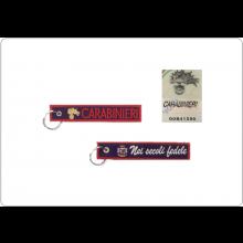 Portachiavi a Nastro Carabinieri Nei Secoli Fedele Prodotto Italiano  Ufficiale Giemme Art.KC 008