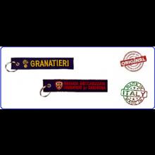 Portachiavi Porta Chiavi a Nastro Granatieri Brigata Meccanizzata Granatieri di Sardegna Blu Prodotto Italiano Ufficiale Giemme Art.05014KC048A