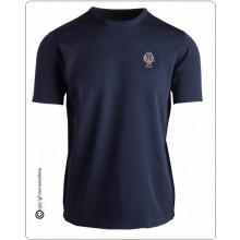 T-shirt Maglia Maglietta Manica Corta Riamo Polizia di Stato PS Ricamata PRODOTTO UFFICIALE TUSCAN Art.00458PO