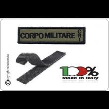Patch Ricamata con Velcro Nuovo Modello Corpo Militare CRI Art.NSD-CM-CRI