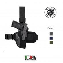 Fondina Cosciale Tactical in Cordura Polizia Carabinieri Esercito Soft Air Vega Holster Italia Carabinieri Polizia Esercito Art. PA2