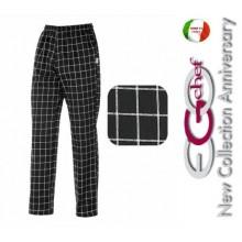 Pantalone Pants Hose Culisse Cuoco Chef Professionale Ego Chef Italia Square Art.3502121A