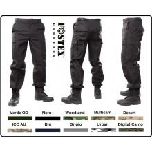 Pantaloni Pantalone Multitasche BDU US Esercito Soft air Caccia Vigilanza Fostex Usa Art.111211-TU