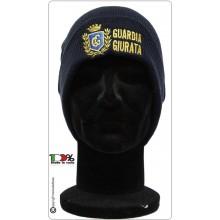 Berretto Zuccotto Papalina Invernale Blu Navy Guardia Giurata Art.T-25