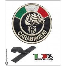 Patch Toppa Carabinieri CC Tonda con Velcro Art.EU013