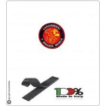 Patch Toppa Ricamata con Velcro Carabinieri 1°Brigata Mobile Art.CC-NSD-2
