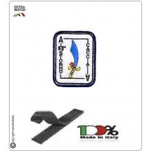Patch Toppa Ricamata con Velcro 53° Stormo Aeronautica Militare Asso di Spade Caccia Art.EU065