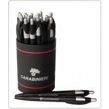 Portapenne da Scrivania Carabinieri con 20 Penne il Tutto con Loghi CC Prodotto Ufficiale Art.10200