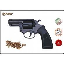 "Revolver Pistola a Salve Saccia Cani Ruger Power 2"" Nero 380 Kimar Italia Art.310.000"