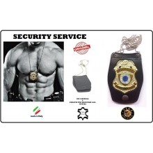 Portaplacca Doppio Uso Collo - Cintura Security Service  Vega Holster Art.1WB28