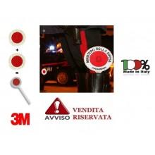 Paletta con Loghi e Scritte Originale Ministero Della Difesa Carabinieri VENDITA RISERVATA Art. R0044