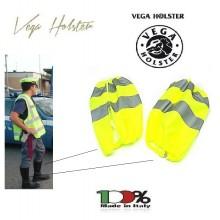 Ghette Alta Visibilità Gialle Vega Holster Italia Polizia Carabinieri Polizia Locale Municipale Art. 4AV03
