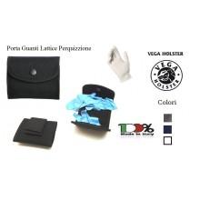 Porta Guanti di Lattice per Perquisizione Emergenza Cordua Nero Blu Bianco Vega holster Italia Polizia Carabinieri Municipale G. di F. Art.2P83