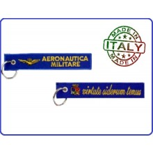 Portachiavi Aeronautica Militare Virtute Siderum Tenus Prodotto Italiano Art.05014 kc 013