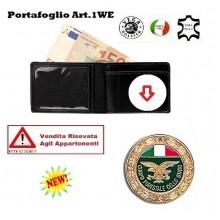 Portafoglio con Placca Estraibile Corpo Forestale Vega Holster Art.1WE14