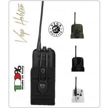 Porta Radio Portaradio Universale in Cordura con Chiusura Regolabile Vega Holster Italia Art.2R00