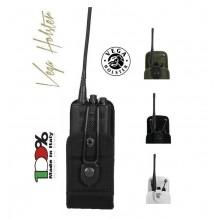 Porta Radio Portaradio Universale in Cordura con Chiusura Regolabile Vega Holster Italia Art. 2R00