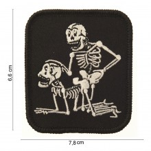 Patch Toppa Ricamata Sex Skulls Teschi Innamorati Art.442302-985