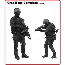 Completo Corpi Speciali  SWAT NOCS GIGN  GSG9 Personalizzalo .....