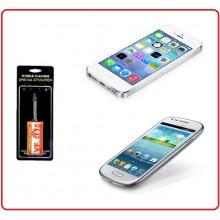 Laccetto per Pulizia dello Schermo Telefono Samsung IPone 5 4 Motorola Nokia Android  Vigili Del Fuoco Art.Eumar.VV