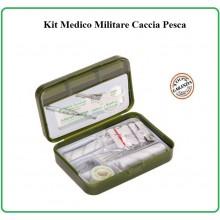 Tasca Kit Primo Soccorso First Aid Kit Survival Completa Fosco Militare Caccia Pesca Softair Art.469480