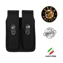 Porta Caricatore Bifilare Doppio in Cordura  Vega Holster Italia Art.2FP03