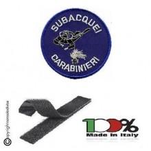 Patch Toppa Ricamata Carabinieri Subacquei CC Art. EU 080