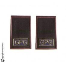 Tubolari Bordo Cremesi Stampa Guardia Particolare Giurata GPG Art.NSD-GPG-1