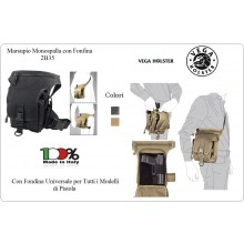 Cargo Bag City Borsa Marsupio Monospalla Portapistola Porta Pistola Fondina Interna Vega Hoster Polizia Carabinieri Vigilanza G. di F. Art.2B35