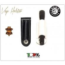 Porta torcia Con passante Vega in cuoio 1V30 per Torcia mag lite Porta Pila AAA cell in Cuoio Vega Holster Italia Art.1V30