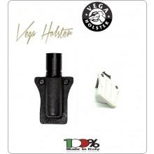 Portapila Porta Pila Tipo OE100 in Kydex Termoformato Vega Holster Italia Art.8VP31