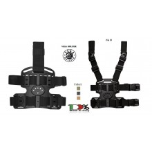 Piattaforma Cosciale Multi Uso in Polimero Stampato a Iniezione Vega Holster Italia Art. 8K16 - 8K18