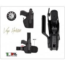 Fondina per Pistola Modello Professionale in Cordura da Fianco Vega holster Italia Polizia Carabinieri Vigilanza Art.PC2