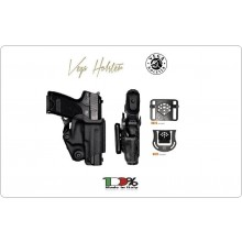 Fondina Polimero Termo formato Professionale Short Vega Holster Italia Polizia Carabinieri Vigilanza GPG IPS Art. VKS8