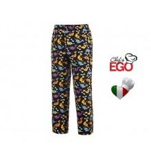 Pantalone pantaloni Coulisse Medicale Cuoco Chef Dino Ego Chef Ravazzolo Italia Dino Art. 3502133A