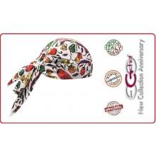 Bandana Sagomata Professionale Spezie Ego Chef Italia Art.7002108A