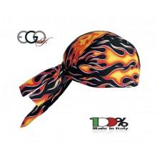 Bandana Sagomata Professionale Flames Inferno  Ego Chef Italia Art. 7002110A