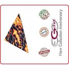 Fazzoletto Collo Cuoco Chef Fiamme Flames Ego Chef Italia Art.Y690110
