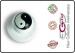 Bottone Per Giacca Cuoco Yng Yang 69 Ego Chef Italia Art.640413