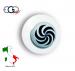 Bottone Per Giacca Cuoco Chef  Ego Vortice Bianco Chef  Art.640404
